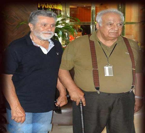 تصاویر : بهروز وثوقی و ناصر ملک مطیعی در آنتالیا