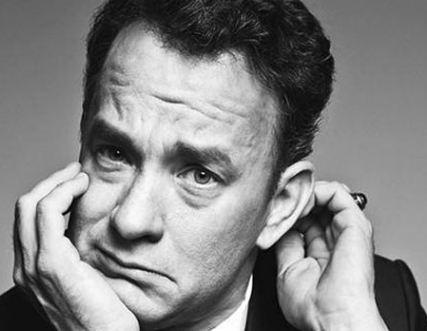 تام هنکس هنرپیشه ۶۱ ساله آمریکایی و دورخیزش برای اسکار!+عکس