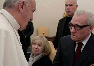 مارتین اسکورسیزی و ملاقات رسمی با پاپ فرانسیس!+تصاویر