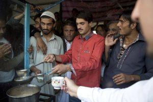 پسر چای فروش