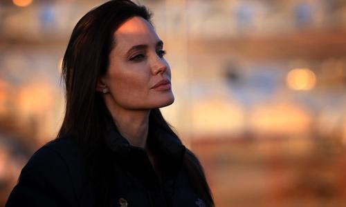 آنجلینا جولی بعد از طلاق از براد پیت