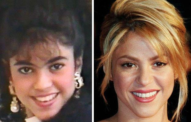 نوجوانی چهره های مشهور