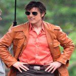 تام کروز بازیگر نقش اول فیلم ساخت امریکا با ظاهری متفاوت!+تصاویر
