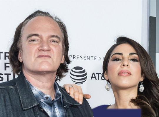 کوئنتین تارانتینو و همسرش