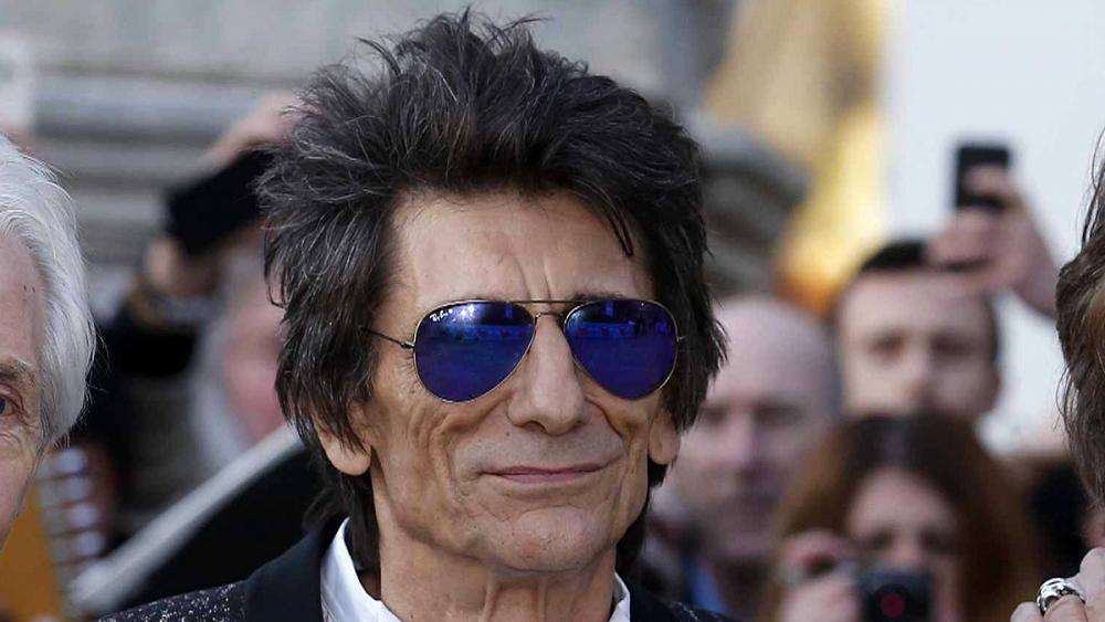 رونی وود خواننده مشهور راک