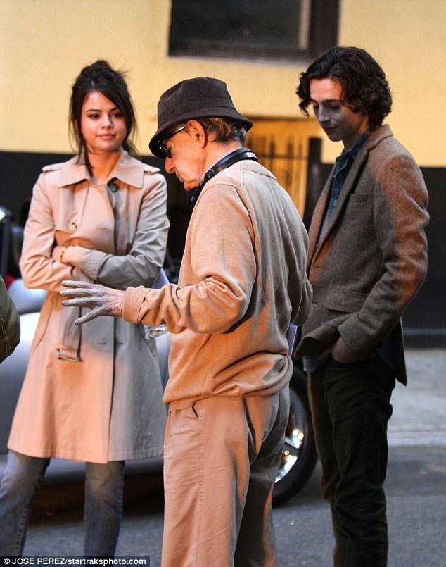 سلنا گومز در فیلم جدید وودی آلن