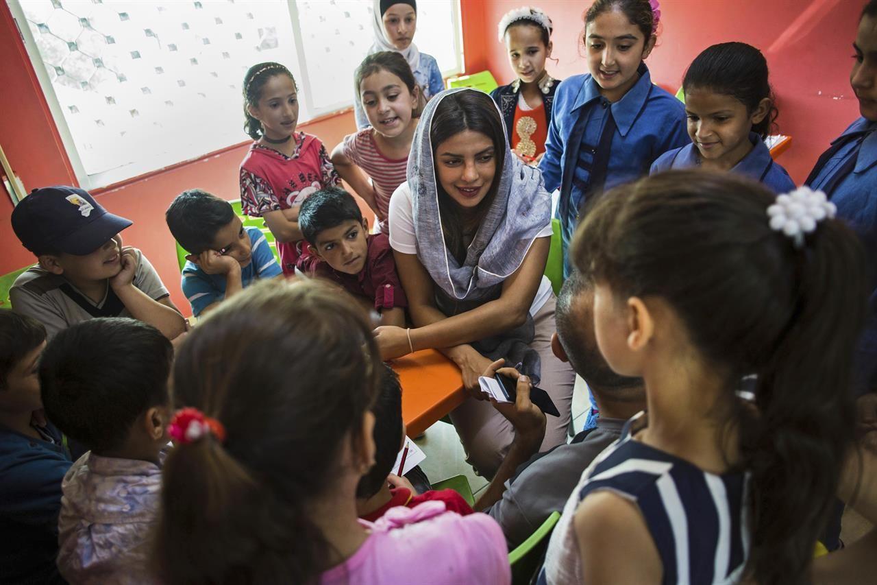 پریانکا چوپرا در سوریه