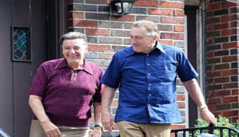 """همکاری """"رابرت دنیرو"""" و """"آل پاچینو"""" دو بازیگر مشهور در سنین کهنسالی"""