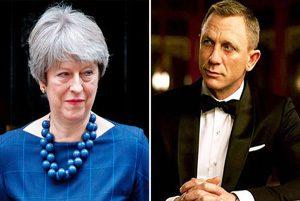 حمایت نخست وزیر بریتانیا از بازیگر جدید جمیز باند!