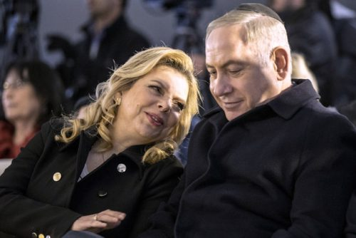 نتانیاهو و همسرش در هند