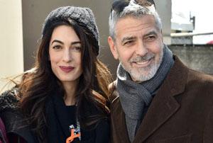 حمایت جورج کلونی و همسرش و خواننده مشهور از راهپیمایی ضد اسلحه!