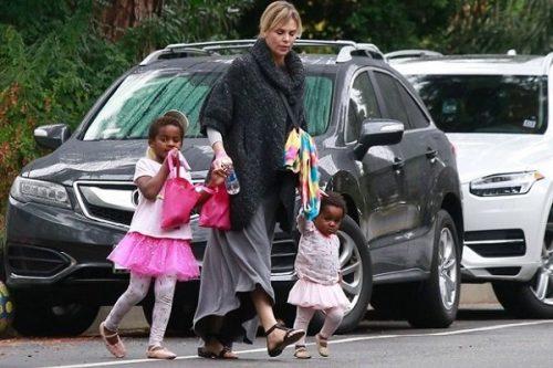 شارلیز ترون و فرزندانش