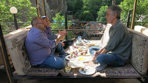 آنتونی بوردن در ایران