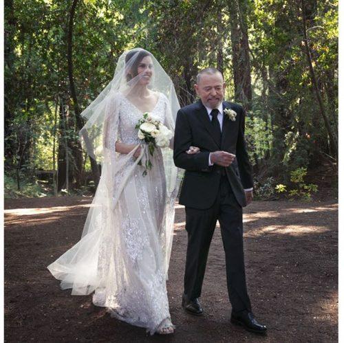 عروسی هیلاری سوانک