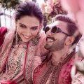 عکس های زیبا از مراسم ازدواج رانویر سینگ و دیپیکا پادوکون ستاره های بالیوود