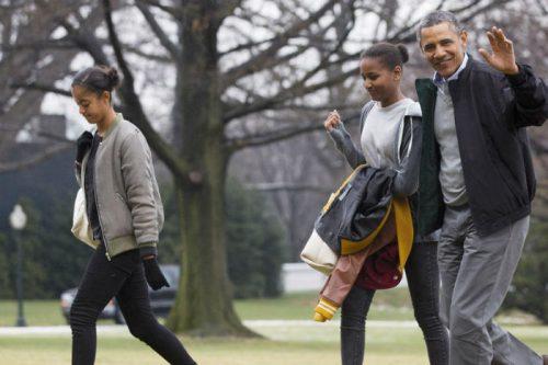 باراک اوباما و همسرش