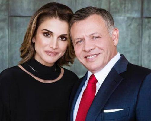 استقبال ملکه رانیا عبدالله همسر پادشاه اردن از کریسمس +تصاویر