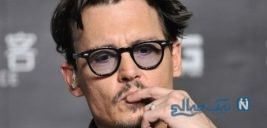 داستان افول جانی دپ بازیگر هالیوودی ستاره ای شکست خورده +تصاویر