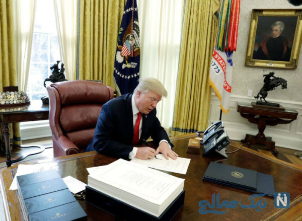 دونالد ترامپ رئیس جمهور آمریکا
