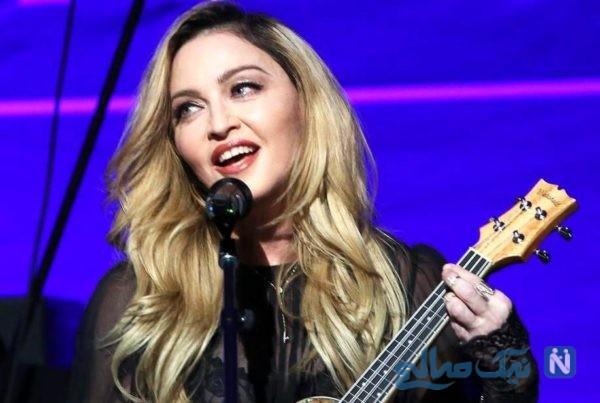 مدونا خواننده آمریکایی