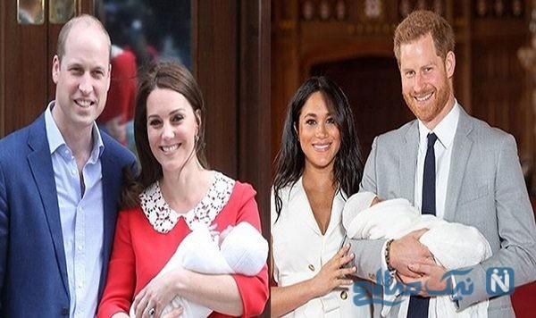 اسم و عکس فرزند مگان مارکل و پرنس هری و ۵ تفاوت فرزند مگان با فرزندان کیت+تصاویر