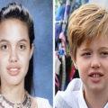 تصاویری که شباهت جالب فرزندان ستاره های هالیوودی به والدین شان را نشان می دهد
