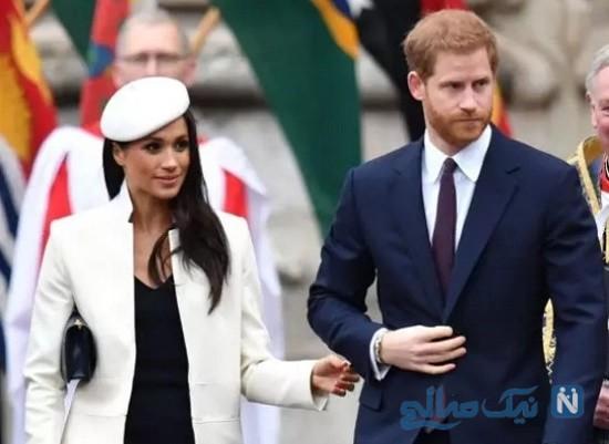 مگان مارکل و پرنس هری