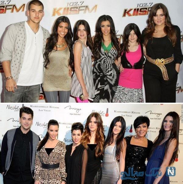 خواهر و برادرهای مشهور