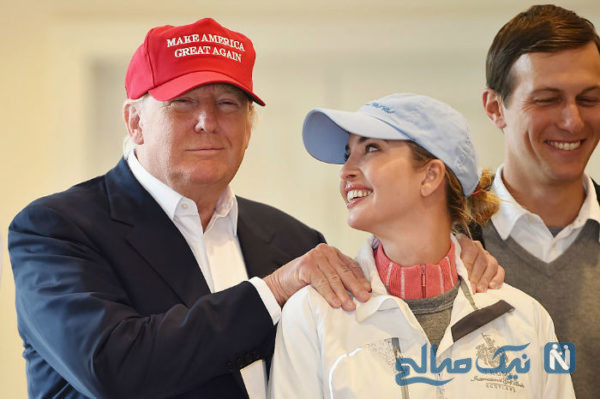 ایوانکا ترامپ و همسرش