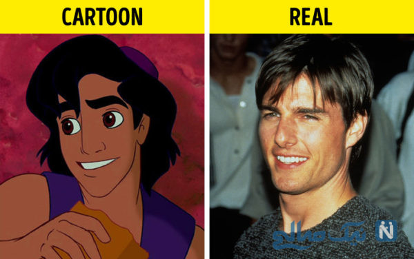 شخصیت های کارتونی مشهور
