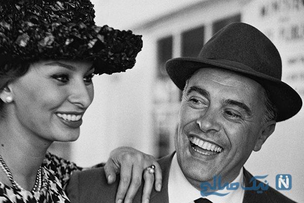 زندگی سوفیا لورن حوری دریایی هالیوود که ۵۰ سال عاشقانه زندگی کرد +تصاویر