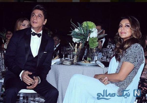 عکس های شاهرخ خان و همسرش