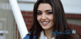 هانده ارچل بازیگر ترک در فیلم مست عشق حسن فتحی +تصاویر