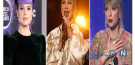 ستارههای موسیقی در شب پرشور مراسم سالانه جوایز موسیقی آمریکا