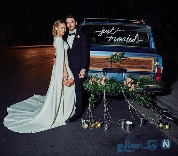 عروسی هیلاری داف