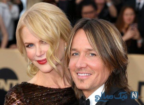 نیکول کیدمن و همسرش