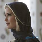حجاب ایوانکا ترامپ در دیدار از مسجد جامع شیخ زاید دبی