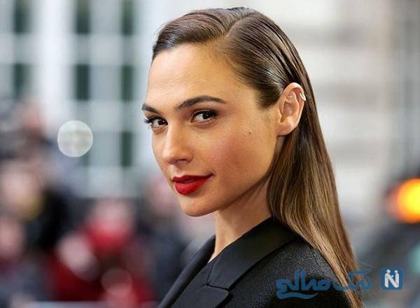 عکس های گل گدوت بازیگر زن و مدل هالیوودی با جواهرات زیبا در اسکار ۲۰۲۰