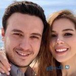 عکس های هاتیجه شندیل بازیگر و مدل زیبای ترک در کنار همسر و پسرش