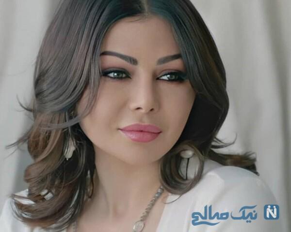 نوه های هیفا وهبی خواننده مشهور لبنانی را ببینید