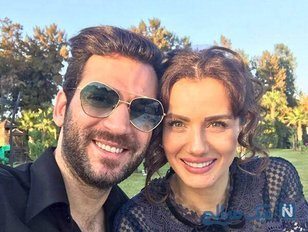 مراد ییلداریم و همسرش ایمانه ملکه زیبایی مراکش را ببینید