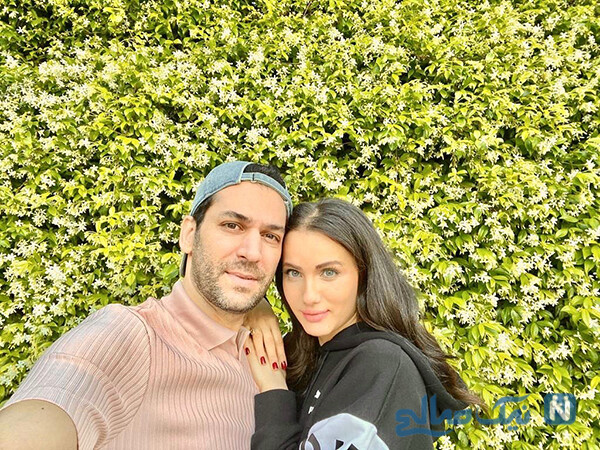 مراد ییلداریم و همسرش