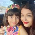 جدال آیشواریا رای و دخترش آرادیا با کرونا در بیمارستان