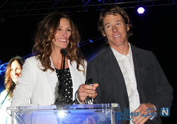 جولیا رابرتز و همسرش