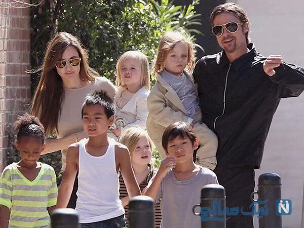برد پیت و فرزندانش