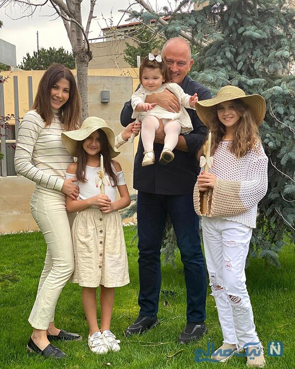 نانسی عجرم و دخترانش