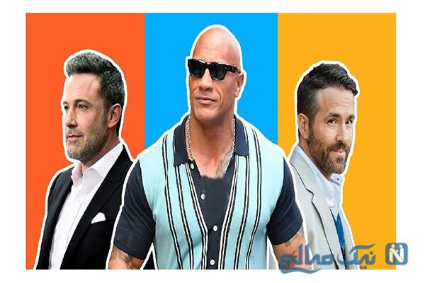 پردرآمدترین بازیگران جهان در سال ۲۰۲۰ از راک تا جکی چان