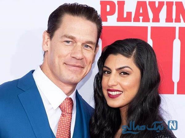 ازدواج جان سینا ورزشکار آمریکایی با دختر ایرانی شهرزاد شریعت زاده