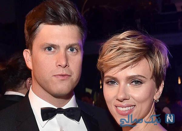 ازدواج اسکارلت جوهانسن ستاره زیبای هالیوودی برای سومین بار