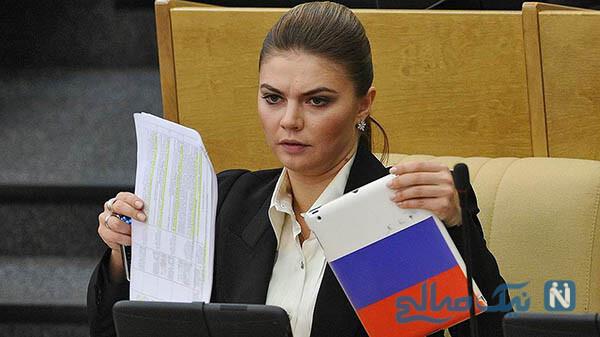 همسر ولادیمیر پوتین
